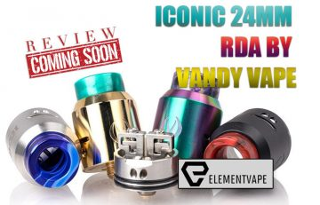 The Vandy Vape Iconic User-Friendly RDA Preview - Spinfuel VAPE