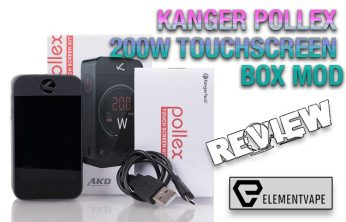 Kanger Pollex 200W Touchscreen Mod Review