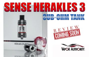 Sense Herakles III 24 Mid-Wattage Sub-Ohm Tank Preview - SPINFUEL VAPE