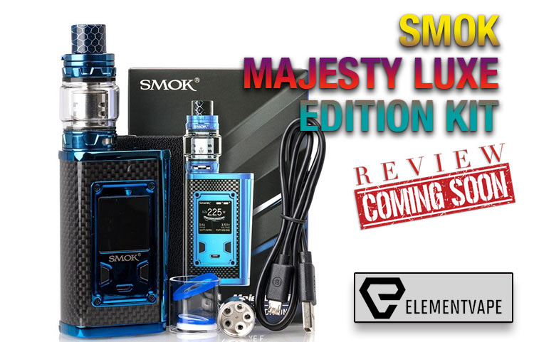 SMOK Majesty Luxe Edition Starter Kit Preview - Spinfuel VAPE