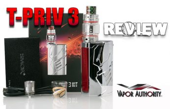 The SMOK T-PRIV 3 300W TC Start Kit Review - SPINFUEL VAPE