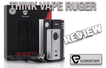 Think Vape Ruger 230W TC Box Mod Review - Spinfuel VAPE