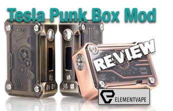 Tesla Punk 220W Steampunk Box Mod Review - Spinfuel VAPE