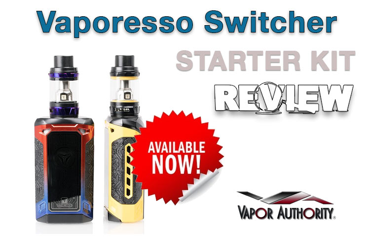 Vaporesso Switcher 220W TC Starter Kit Review - Spinfuel VAPE
