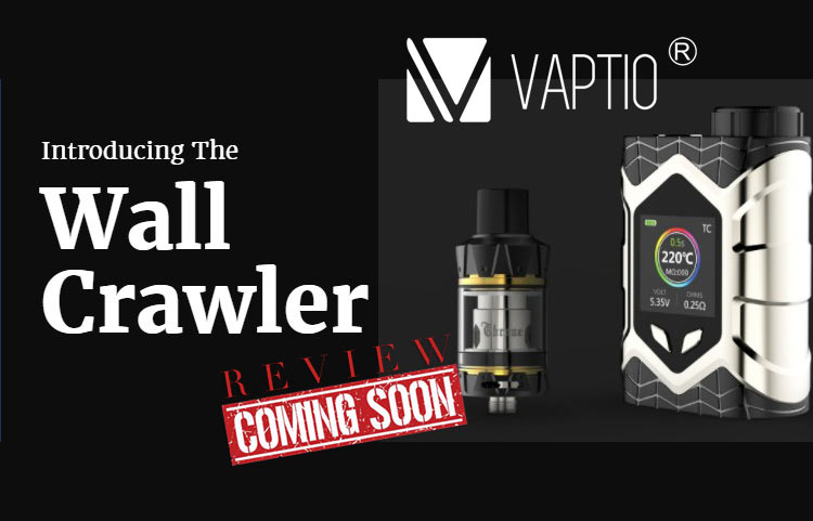 The Spider-Man Styled Vaptio Wall Crawler Mod Kit Preview