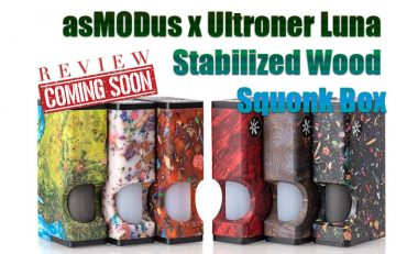 asMODus x Ultroner Luna Stabilized Wood Squonk Box Preview