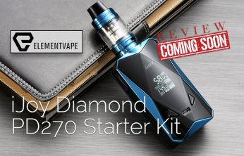 iJOY Diamond PD270 234W TC Starter Kit Preview - Spinfuel VAPE