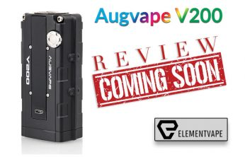 The VTEC-styled Augvape V200 200W Box Mod Preview by Spinfuel VAPE