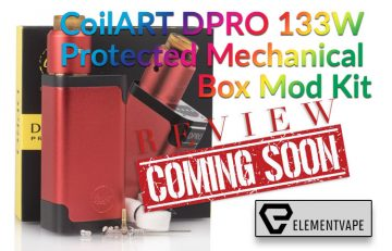CoilART DPRO 133W Protected Mechanical Box Mod Kit Preview -
