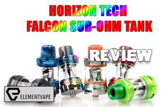 HorizonTech Falcon Sub-Ohm Tank Review
