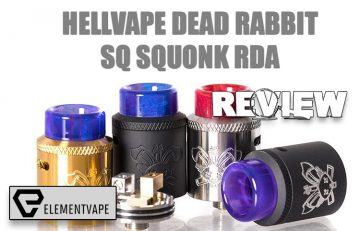 The Hellvape Dead Rabbit SQ Squonk RDA Review - Spinfuel VAPE