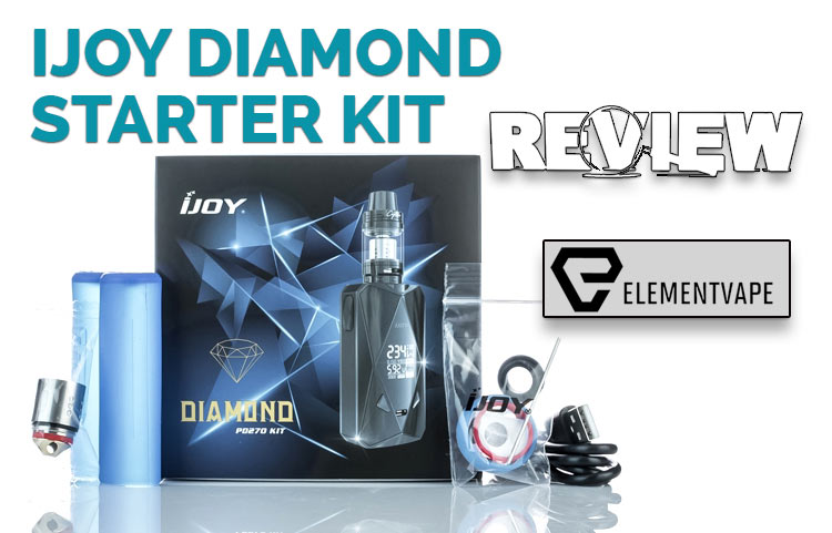 iJoy Diamond & Captain X3S Sub-Ohm Kit Review BY SPINFUEL VAPE