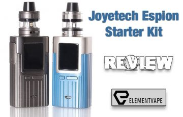 Joyetech Espion Mod Kit Review - Spinfuel VAPE
