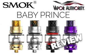 SMOK TFV12 Baby Prince - Pretender to the Throne or the True Heir? Spinfuel VAPE
