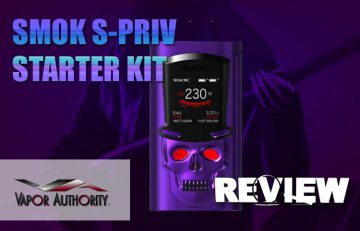 SMOK S-PRIV Skull-In-A-Top-Hat 230W Kit Review - SPINFUEL VAPE