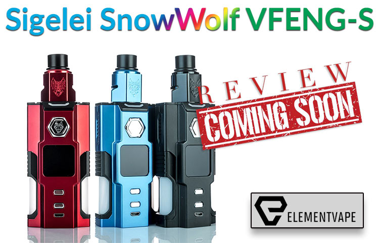 Sigelei SnowWolf VFENG-S 230W Durable Mod Preview