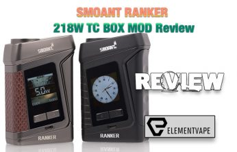 SMOANT RANKER 218W TC BOX MOD Review - Spinfuel VAPE