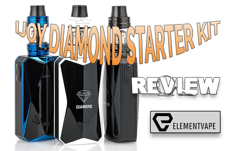 iJoy Diamond PD270 & Captain X3S Sub-Ohm Kit Review BY SPINFUEL VAPE