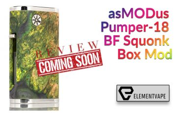 asMODus Pumper-18 BF Squonk Box Mod Preview