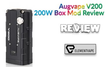 Augvape V200 200W Box Mod Review