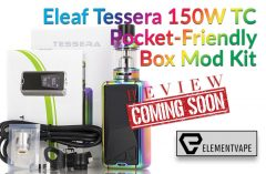 Eleaf Tessera 150W TC Pocket-Friendly Box Mod Kit
