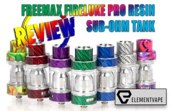 FreeMax FireLuke Pro Resin Sub-Ohm Tank Review