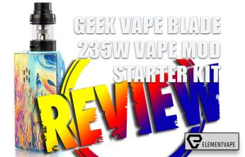 Geek Vape Blade 235W Vape Mod Kit Review BY SPINFUEL VAPE