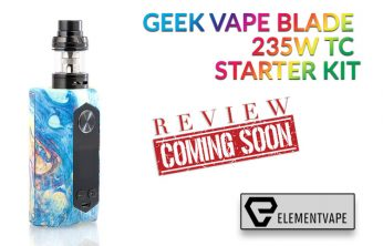 Geek Vape Blade 235W TC Starter Kit Preview
