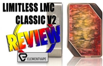 Limitless LMC Classic v2 220W Box Mod Review