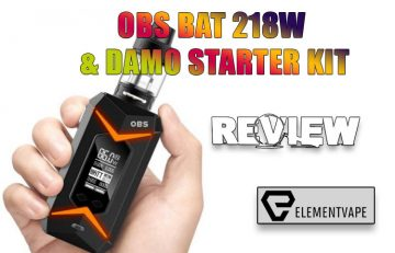 OBS Bat 218W Mod and DAMO Tank Kit Review