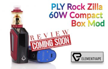 The PLY Rock Zilla 60W Compact Box Mod Preview