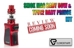 SMOK MAG BABY 50W & TFV12 Baby Prince Kit Preview by Spinfuel VAPE