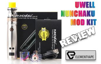 Uwell Nunchaku Mod Kit Review