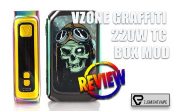 VZONE GRAFFITI 220W TC BOX MOD BY SPINFUEL VAPE