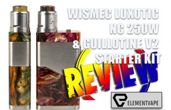 WISMEC Luxotic NC Mechanical Mod Review by Spinfuel VAPE