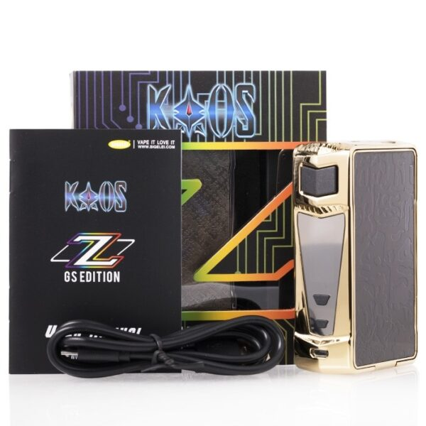 sigelei_kaos_z_gs_edition_200w_tc_box_mod_packaging_content