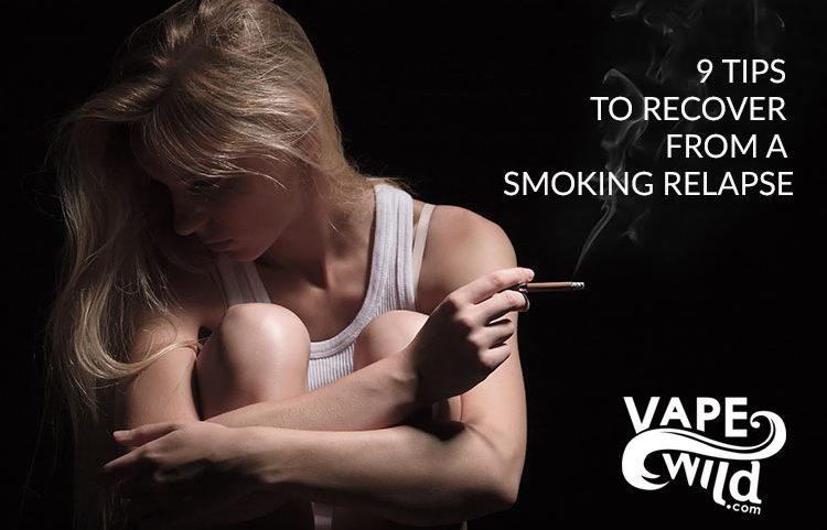 9 Tips to Recover from a Smoking Relapse - Spinfuel VAPE