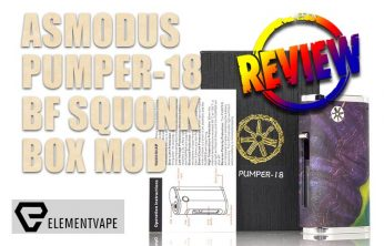 asMODus Pumper-18 BF Squonk Box Mod Review