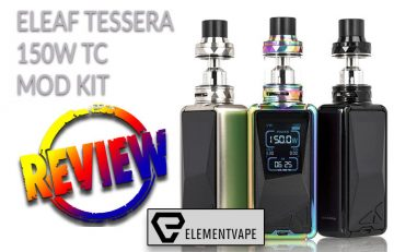 Eleaf Tessera 150W TC Pocket-Friendly Box Mod Kit by Spinfuel VAPE