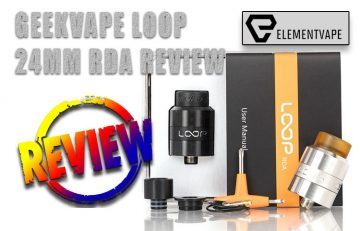 GeekVape LOOP RDA Review by Spinfuel VAPE