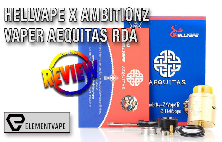 Hellvape x AmbitionZ VapeR Aequitas RDA Review