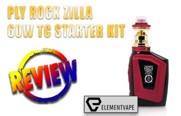 PLY Rock Zilla 60W Box Mod Kit Review by Spinfuel VAPE