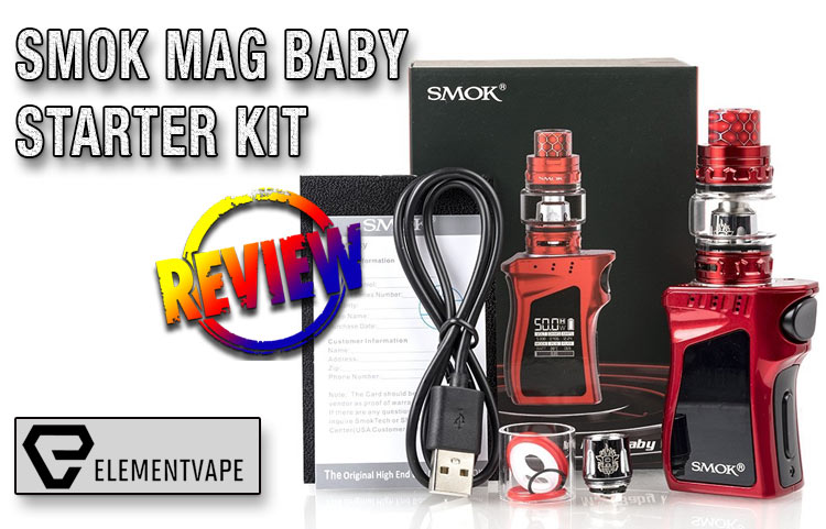 SMOK MAG BABY 50W & TFV12 BABY PRINCE KIT Review