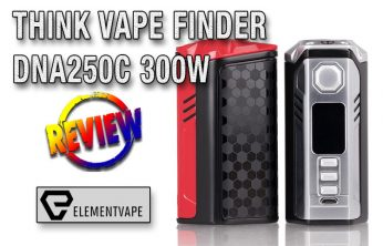 Think Vape Finder DNA250C 300W Box Mod Review by Spinfuel VAPE