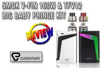 SMOK V-FIN 160W & TFV12 Big Baby Prince Kit Review
