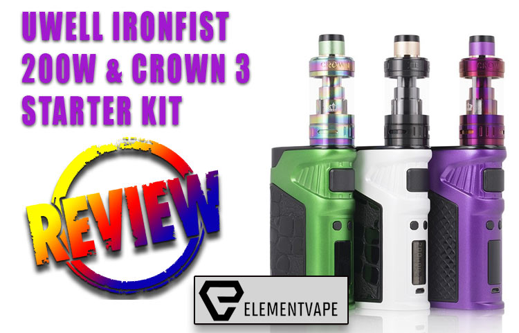 Uwell Ironfist 200W Mod Kit Review by Spinfuel VAPE