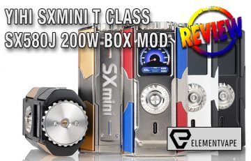 YiHi SXmini T Class SX580J 200w Box Mod Review by Spinfuel VAPE