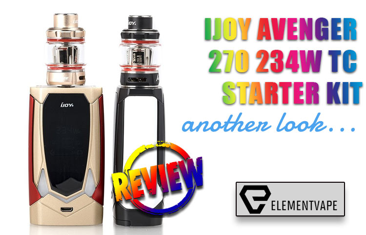 IJOY Avenger Mod Kit Review – Second Look