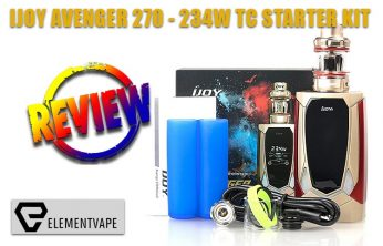 iJoy Avenger 270 234W TC Starter Kit Review