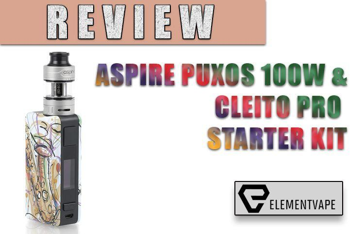 ASPIRE PUXOS & CLEITO PRO KIT REVIEW | Spinfuel VAPE